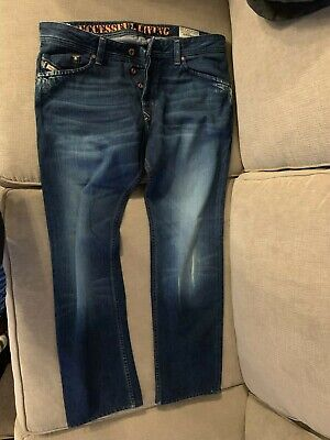 9a54b03c NEW MEN'S DIESEL DARRON Jeans 34 x 32 Made in ITALY wash 008MZ ...
