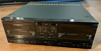Rare Vintage Kenwood X-71 Twin Cassette Tape deck Player Recorder HiFi Separate
