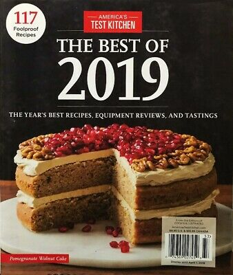 America's Test Kitchen The Best of 2019 Year's Best Recipes Cook's Illustrated