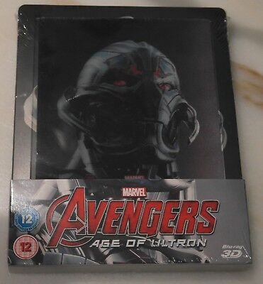 AVENGERS : AGE OF ULTRON 3D - Steelbook - Lenticolare (Blu-ray) - NO in Italiano