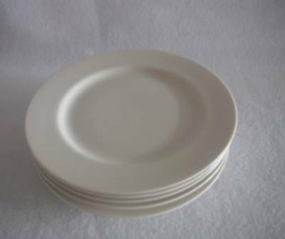"""Mikasa Ivory China Salad Plate 7.5"""" L2801 Trousdale Japan Pre Owned Multiples Av"""