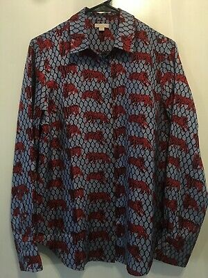 NWT J CREW COLLECTION Roaming Tiger Shirt size 14 - $99 99