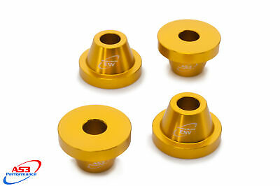 HONDA CR 125 250 CRF 250 450 AS3 ALUMINIUM BAR MOUNT CLAMP YOKE CONES SPACERS