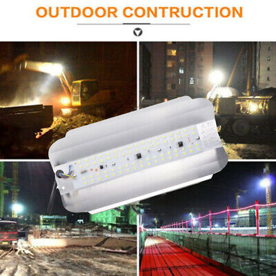 50W 220V LED Flood Light Iodine-tungsten Lamp Outdoor Garden Path Waterproof