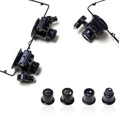 Useful New Magnifier Eye Glasses Loupe Lens Set Tool For Watchmaker Watch Repair