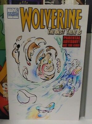 Wolverine The Best There Is #1 Blank Jay Little Original Surrealism Art Cover