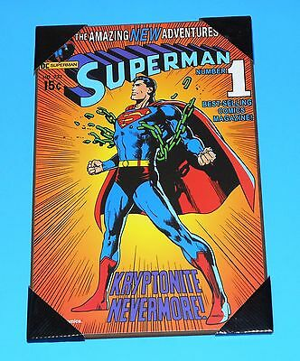"""Superman #233 19"""" x 13"""" Wooden Poster NEW"""