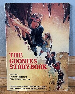 RARE Vintage 1985 The Goonies Storybook Paperback Book Movie Tie-In