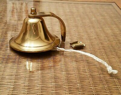 Nautical SOLID BRASS Boat Ship's Bell
