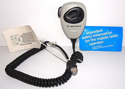 Motorola Mobile Microphone with Telco Plug No. HMN4069D NOS with Tags 2000