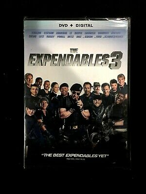 The Expendables 3 (DVD, 2014 + Digital Copy)