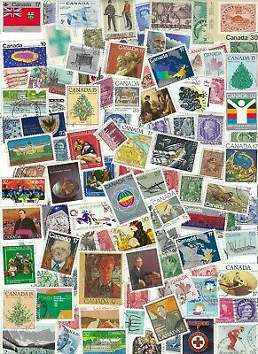 Canada - Collection of 100 Different Stamps.......... - D 9-2-07