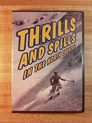 Thrills and Spills in the North Country (1998, DVD) Old School Ski Documentary
