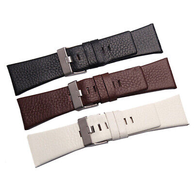 High Quality Genuine Leather Replacement Watch Strap Watch Band US Stock