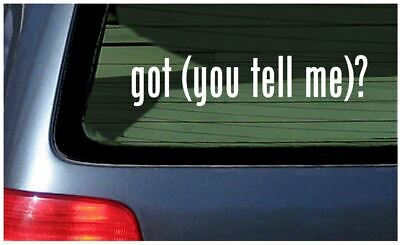 custom got? sticker make your own vinyl decal personalized customized got window