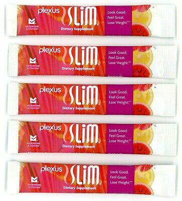 Plexus Slim Pink Drink 5 Individual Packets Weight Loss Microbiome Activating