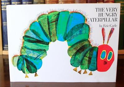 The Very Hungry Caterpillar, Eric Carle (1969), Early Printing, SIGNED & DOODLED