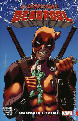 Despicable Deadpool TPB (Marvel) #1-1ST 2018 VF Stock Image
