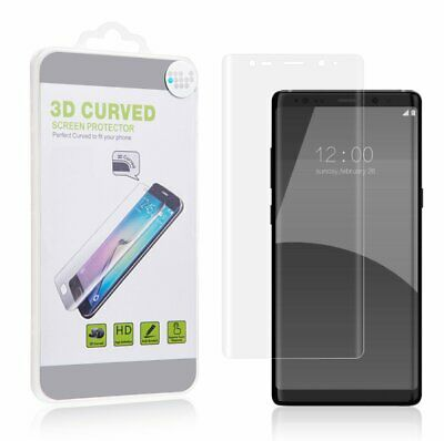 Samsung Galaxy Note 8 Premium Full Coverage Curved Pet Screen Protector - Clear