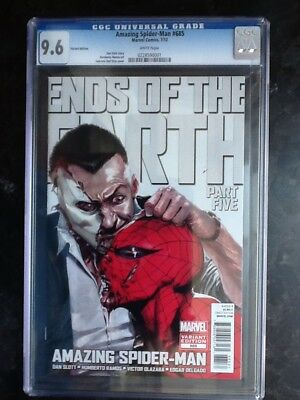 Amazing Spider-Man #685 Dell Otto variant CGC 9.6!