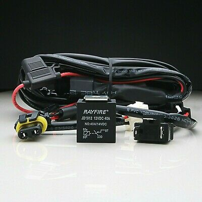 Wiring Harness Loom Quick Fit High Beam LED Light Bar 12V 40A Relay