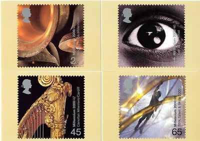 GB 2000 PHQ Cards Mint Set~Sound & Vision~(4)~PHQ-226~UK Seller