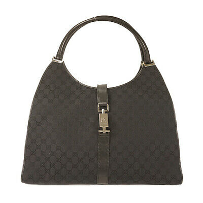 fe1ab27e9 GUCCI SILVER IMPRIME GG Coated Canvas Tote Bag - $310.00 | PicClick