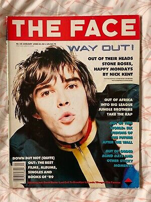 The Face Magazine, January 1990, Vol 2, No 16. Ian Brown cover.