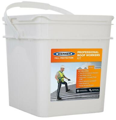 Professional Roof Workers Fall Arrest Kit - WERNER
