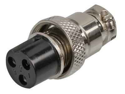3-Pin Multi-Pole Connector Socket - PRO SIGNAL