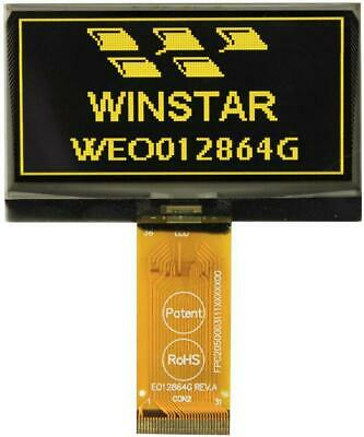 OLED Graphic Display Module, 128x64, White - WINSTAR