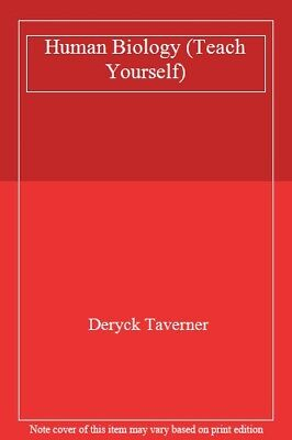 Human Biology (Teach Yourself),Deryck Taverner