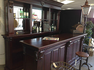 2.6 Metre Mahogany Home Bar