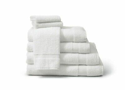 12 Bath Towels 22X44 White 100% Cotton 12 Pack 6 Lbs Gatco Brand For Hotel Towel