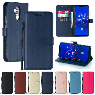 Magnetic Leather Wallet Flip Slots Case Cover For Huawei Mate 20 Lite 10 9 Pro 8