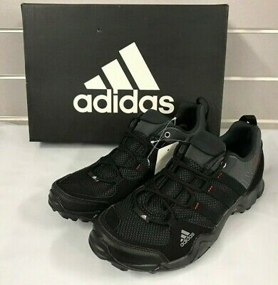 Adidas Men's AX2 Black/Grey/Red Outdoor Hiking Shoes D67192 NEW Size 8.5 -12
