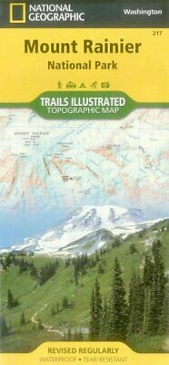 National Geographic Trails Illustrated Map: Mount Rainier National Park,...