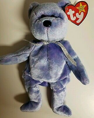 Ty Beanie Babies Original Clubby II Lavender Purple New With Tags