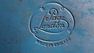 Vintage Metal Watercolour  Paint Tin by PAGE OF LONDON, Made In England