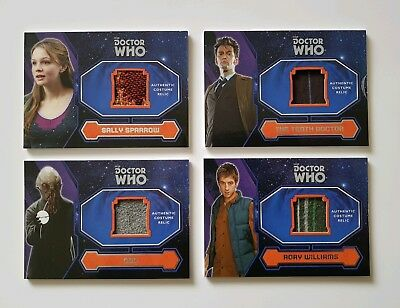 Topps Dr Who 2015 Costume Card Set