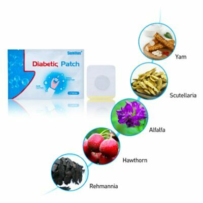 Diabex Natural Herbal Patch Diabetic Patch Stabilizes Blood Sugar Balance Blood