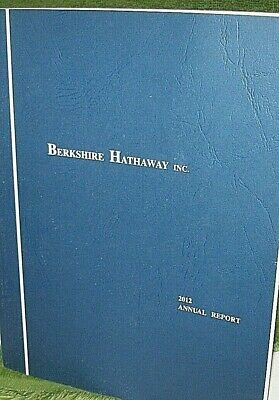 Berkshire Hathaway Inc. 2012 Annual Report