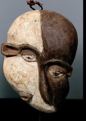 Old Tribal Pende Deformed Mouth Mask   --  Congo BN 8