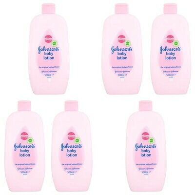 Johnson and Johnson Baby Lotion - 6 PACK x 500ML - FAMILY MONEY SAVING QUANTITY