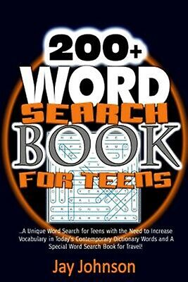 200+ Word Search Book for Teens Unique Word Search for Teens w by Johnson, Jay