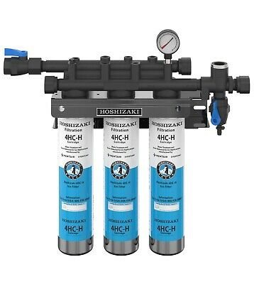 Hoshizaki H9320-53, Triple Water Filter System with Manifold & Cartridge