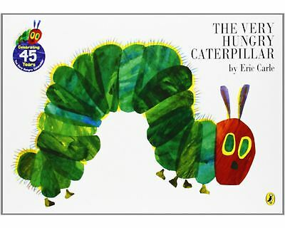 Rainbow Designs THE VERY HUNGRY CATERPILLAR BOARD BOOK Toddler Early Reading BN