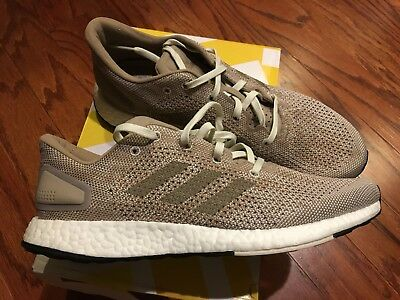 separation shoes 150fd 6bdfc RARE! ADIDAS PUREBOOST Running Shoes Beige Ultra Pure Boost Mens Size 9.5