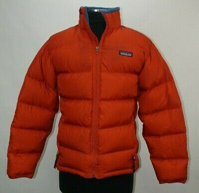 Patagonia Down Winter Jacket Puffer Coat XL 14 Youth Kids