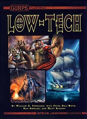 Gurps Low-Tech by Steve Jackson Games -Hcover